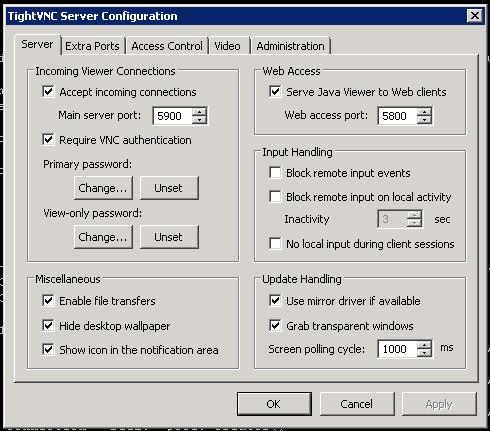 tightvnc-server